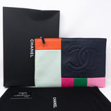 O-Case Large Colorblock Leather