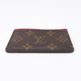 Card Holder Monogram Fuchsia