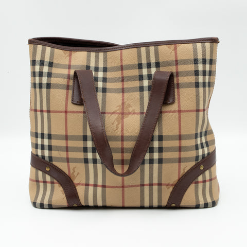 House Check Tote Bag