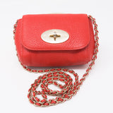 Mini Lily Red Leather