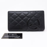 Cambon Classic Long Leather Wallet