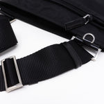 Vela Small Crossbody Black Nylon