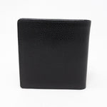 Compact Classic Wallet Black Caviar Leather