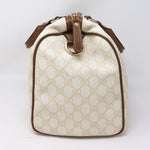 Joy Boston White Canvas Bag