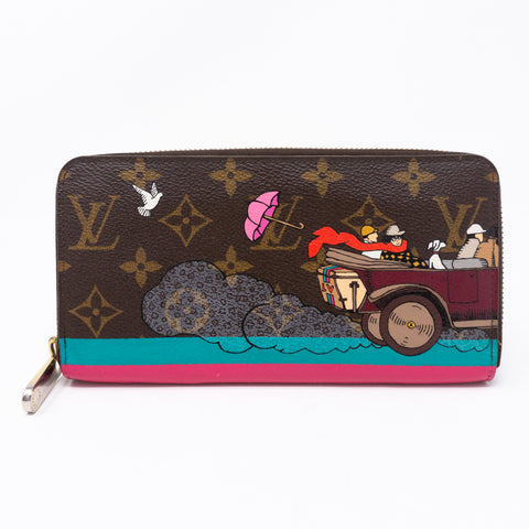 Zippy Wallet Monogram Evasion