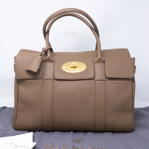 Bayswater Taupe Leather