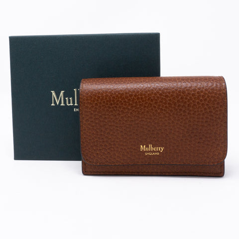 Continental Card Holder Brown Leather