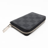 Zippy Coin Purse Vertical Damier Graphite