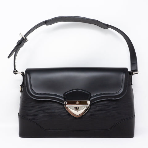 Bagatelle PM Noir Epi Leather