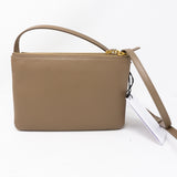 Trio Bag Taupe Leather