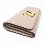 Twist Wallet Epi Leather Galet Grey