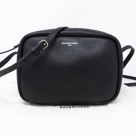 Everyday Camera S Bag Black Leather