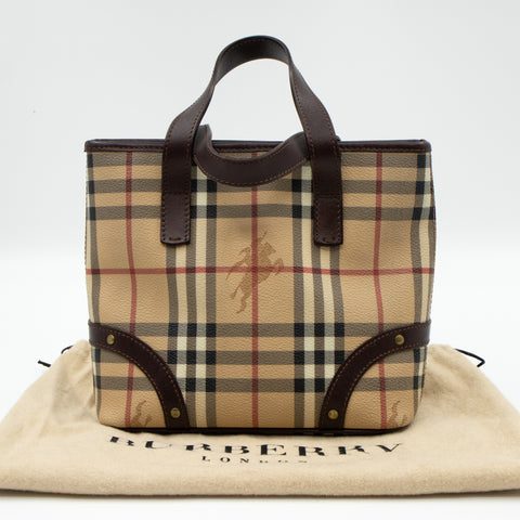 House Check Small Tote Bag