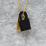 O'Kelly Pendant Gold Black