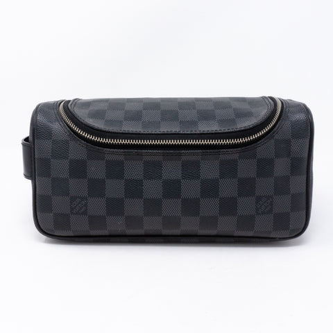 Toiletry Pouch Damier Graphite