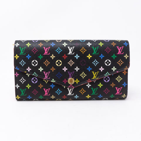 Sarah Wallet Multicolore Black