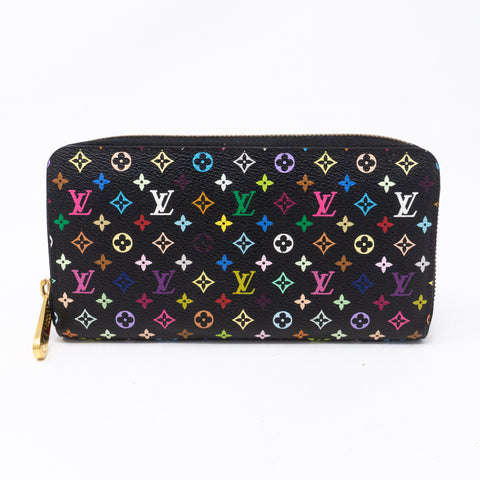 Zippy Wallet Black Multicolore