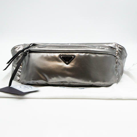 Belt Bag Iron Metallic Nylon