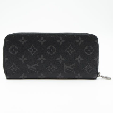 Zippy Vertical Wallet Monogram Eclipse