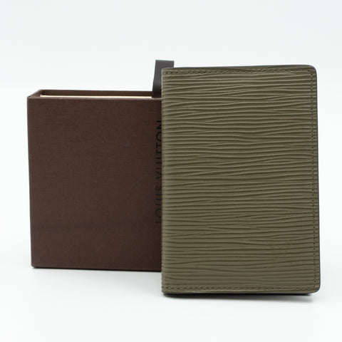 Pocket Organiser Khaki Epi Leather