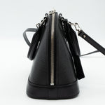 Alma BB Black Epi Leather