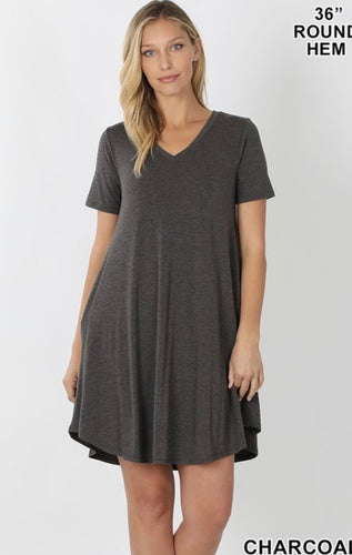 Comfy Basic Dress