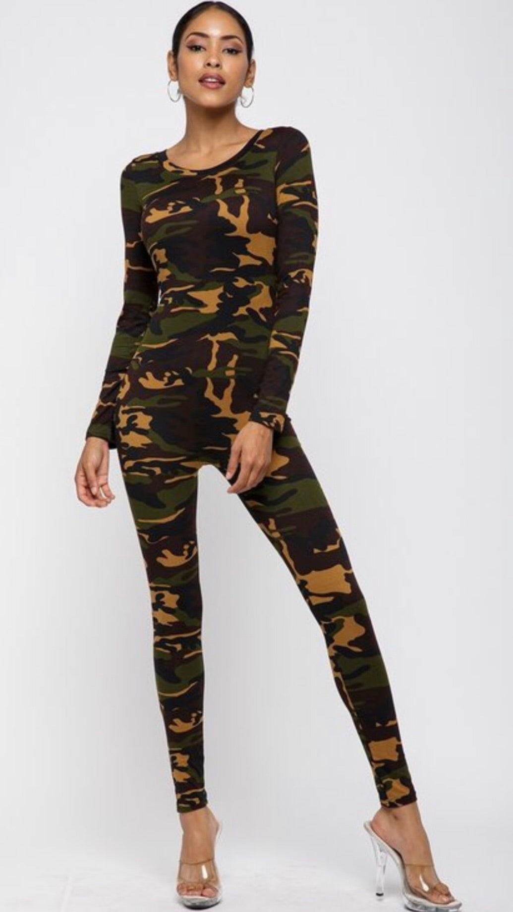 Camo Full Bodysuit