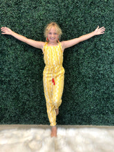 Load image into Gallery viewer, Kids yellow jumpsuit