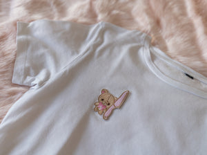 CUTE BUT PSYCHO T-SHIRT WHITE