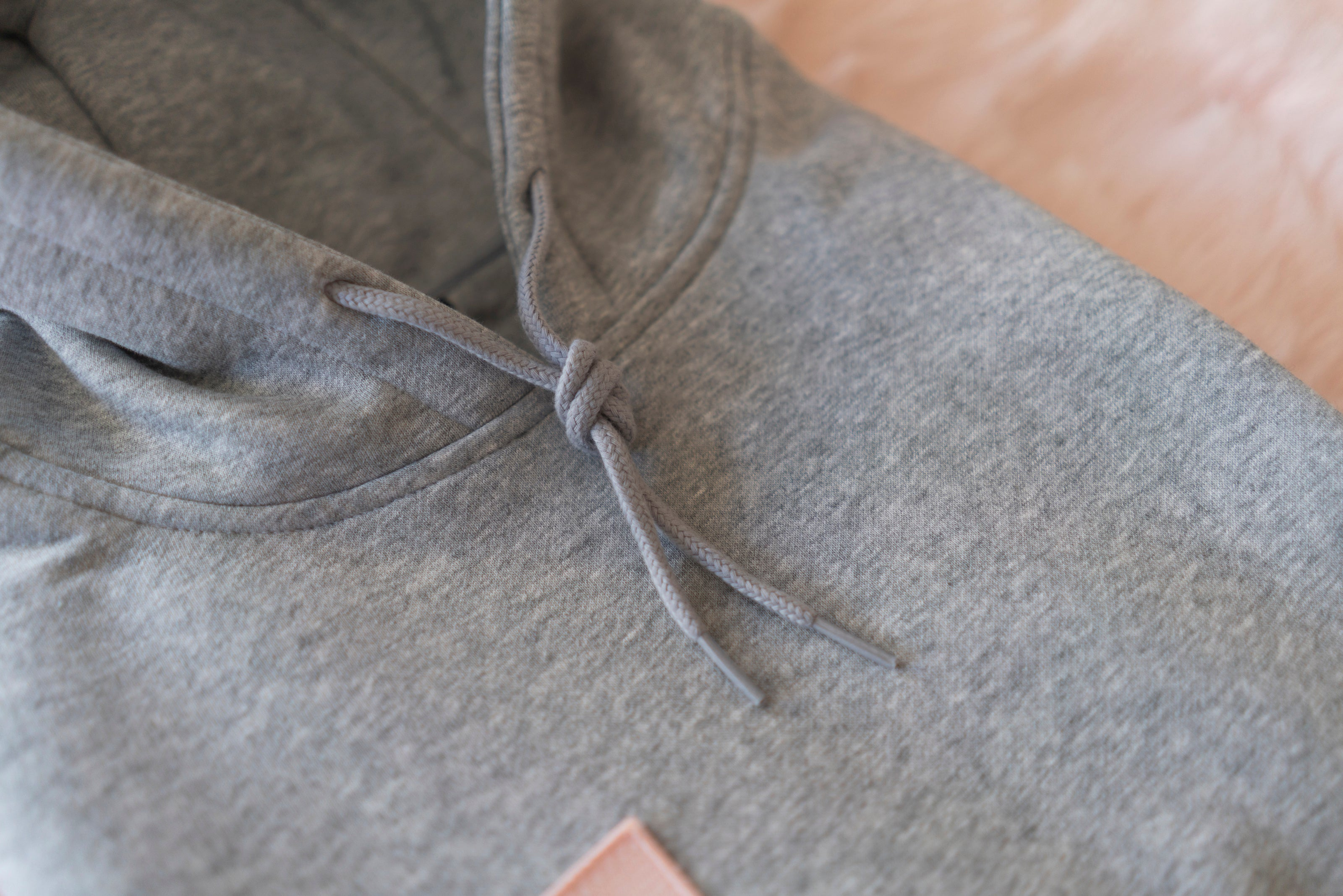 ROSE ALL DAY GREY HOODIE