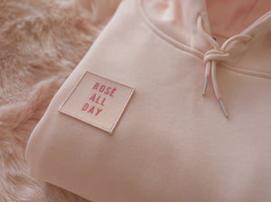 ROSE ALL DAY PINK HOODIE 1