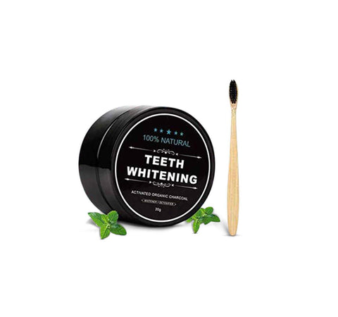 Natural Activated Charcoal Whitening