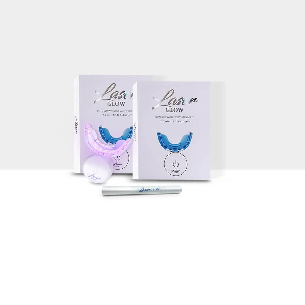Laser Glow His and Hers Teeth Whitening Gift Bundle Kit