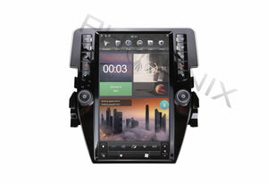 "[ PX6 SIX-CORE ] 11.8"" Vertical Screen Android 9 Fast boot Navigation Radio for Honda Civic 2016 -"