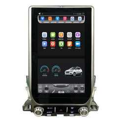 "[ PX6 Six-core ] 13.6"" Vertical Screen Android 9 Fast boot Navi Radio for Toyota Land Cruiser 2016 2017"