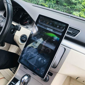 "12.8"" Six-core Universal double din head unit 100° Rotation Screen Android 9.0 Navigation Radio"