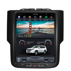 "[ PX6 Six-core ] 10.4"" Android 9 Fast boot Vertical Screen 3 button Navi Radio for Dodge Ram 2013 - 2018"