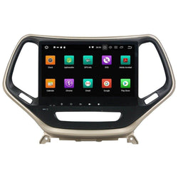"10.2"" Octa-Core Android Navigation Radio for Jeep Cherokee 2017 - 2019"