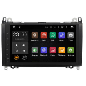 "9"" Octa-Core Android Navigation Radio for Mercedes-Benz A-class B-class Sprinter 2006 - 2012"