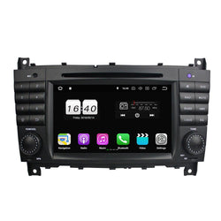 "7"" Octa-Core Android 9.0 Navigation Radio for Mercedes Benz Mercedes Benz Sprinter C-Class W203 2004 - 2007 GLC G Class W467 2008 - 2011"
