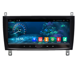 "8.8"" Octa-core Metal Trim Android Navigation Radio for Mercedes Benz C CLK W203 C200 C230 C320 CLK350"