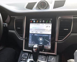 "10.4"" Tesla-style Vertical Screen Android Navi Radio for Porsche Macan 2014 - 2018"