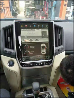 "[ PX6 Six-core ] 12.1"" Vertical Screen Android 9 Fast Boot Navi Radio for Toyota Land Cruiser 2016 2017"