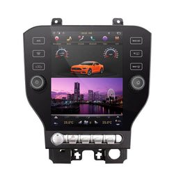 "[ PX6 Six-core ] 10.4"" Android 8 Vertical Screen Navigation Radio for Ford Mustang and Shelby 2015 - 2019"