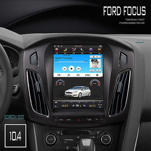 "[ PX6 SIX-CORE ] 10.4"" Vertical screen Android 9 Fast Boot Navigation radio for Ford Focus 2011-2018"