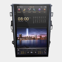 "[ PX6 SIX-CORE ] 13.6"" Vertical screen Android 9 Fast Boot Navigation radio for Ford Fusion 2013-2020"
