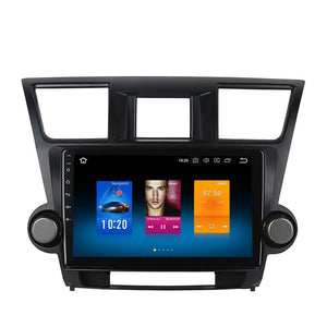 "[Open box] 10.2"" Octa-core Quad-core Android Navigation Radio for Toyota Highlander 2009 - 2012"