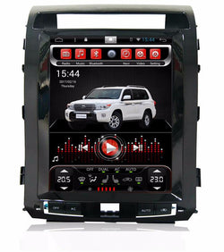 "[ PX6 Six-core ] 12.1"" Vertical Screen Android 9 Fast Boot Navi Radio for Toyota Land Cruiser 2008 - 2015"