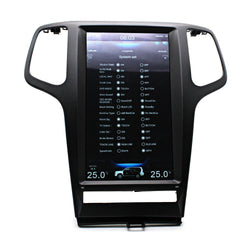 "[PX6 SIX-CORE]13.3"" Vertical Screen Android 8.1 Navigation Radio for Jeep Grand Cherokee 2009 - 2012"