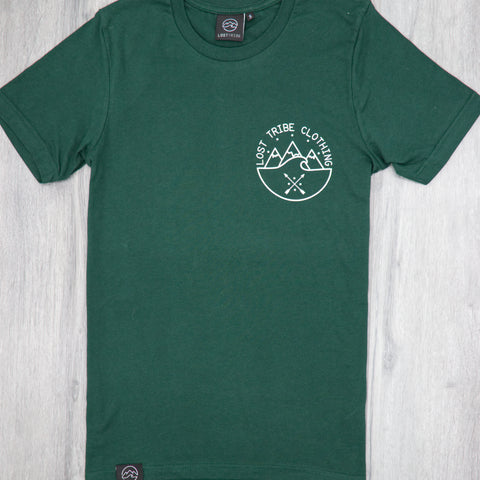 Chakana T-Shirt - Dark Green